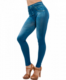 Фото Леджинсы Slim Jeggings синие